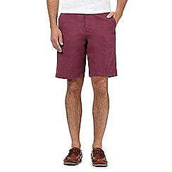 Maine New England - Big and tall grape washed chino shorts