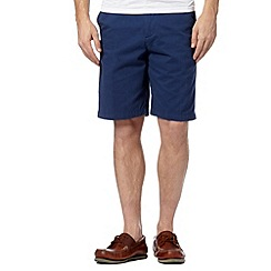 Maine New England - Royal blue washed chino shorts