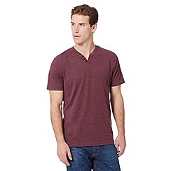 Maine New England - Big and tall plum marl jersey t-shirt