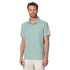 Maine New England - Pale green plain polo shirt