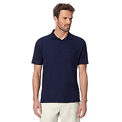 Maine New England - Navy plain polo shirt