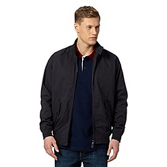 Maine New England - Big and tall navy lightweight harrington jacket