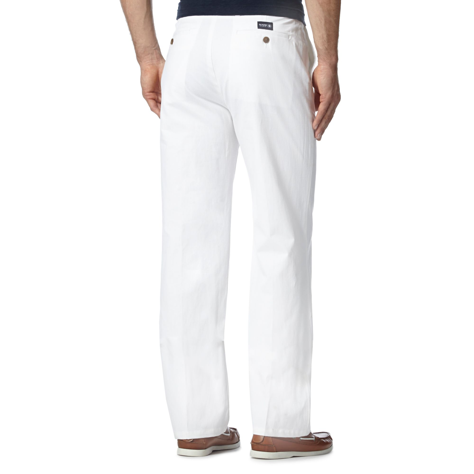 Find mens white cotton pleated trousers at ShopStyle. Shop the latest collection of mens white cotton pleated trousers from the most popular stores -.