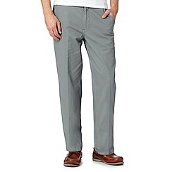 Maine New England - Big and tall pale green straight leg chinos