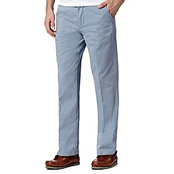Maine New England - Pale blue straight leg chinos