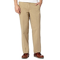 Maine New England - Big and tall beige chino trousers
