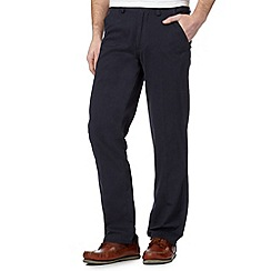 Maine New England - Navy tailored fit chinos