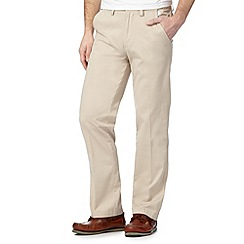 Maine New England - Natural tailored fit chinos