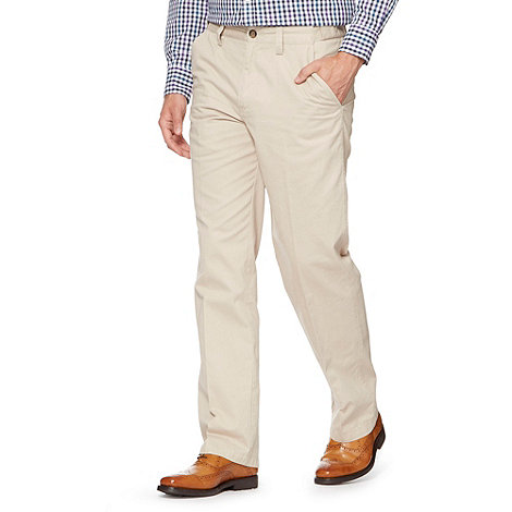 Maine New England - Big and tall natural classic chinos