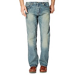 Maine New England - Big and tall blue vintage wash jeans