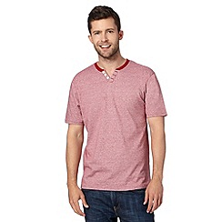 Maine New England - Red feeder notch t-shirt