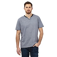 Maine New England - Navy feeder notch t-shirt