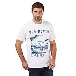 Maine New England - White 'Old North' t-shirt