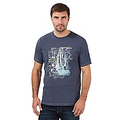 Maine New England - Mid blue 'Pacific Div.' t-shirt