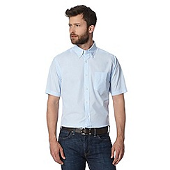 Maine New England - Light blue semi-plain shirt