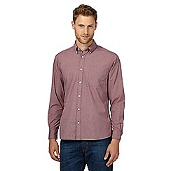Maine New England - Big and tall red checked shirt