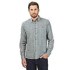 Maine New England - Big and tall green checked shirt