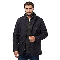 Maine New England - Big and tall navy panel coat