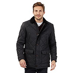 Maine New England - Dark grey quilted jacket