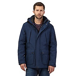 Maine New England - Big and tall blue waterproof jacket