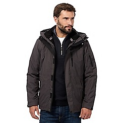 Maine New England - Big and tall dark grey coat