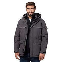 Maine New England - Big and tall dark grey parka