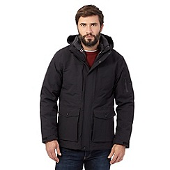 Maine New England - Big and tall black 3 in 1 coat