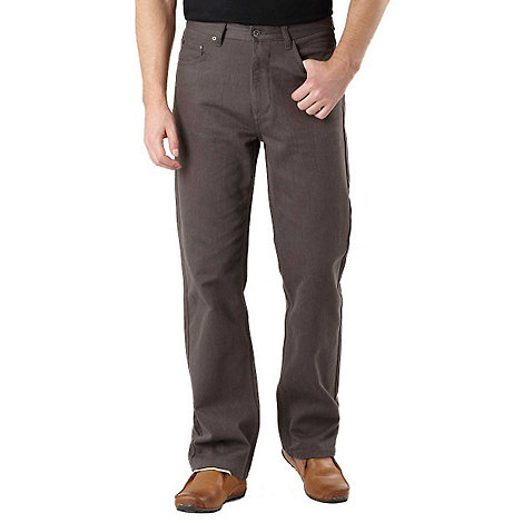 Maine New England - Brown broken bedford trousers