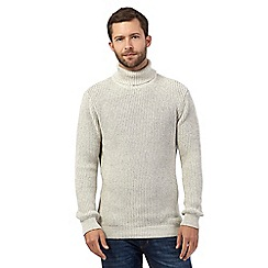 Maine New England - Off white roll neck jumper