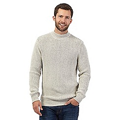 Maine New England - Off white turtle neck jumper