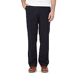 Maine New England - Big and tall navy moleskin trousers