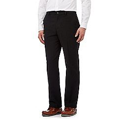 Maine New England - Big and tall black moleskin trousers
