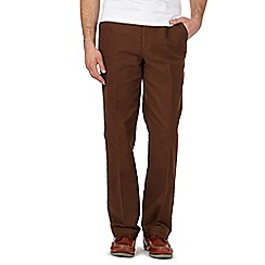 Maine New England - Brown moleskin trousers