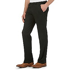 Maine New England - Big and tall green tailored chinos