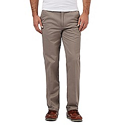 Maine New England - Big and tall grey tailored chinos