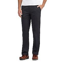 Maine New England - Dark grey tailored fit chinos