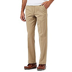 Maine New England - Beige tailored fit chinos