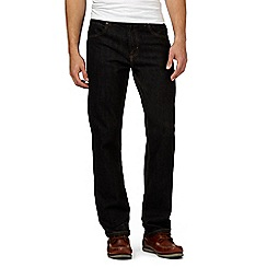 Maine New England - Big and tall black straight fit jeans