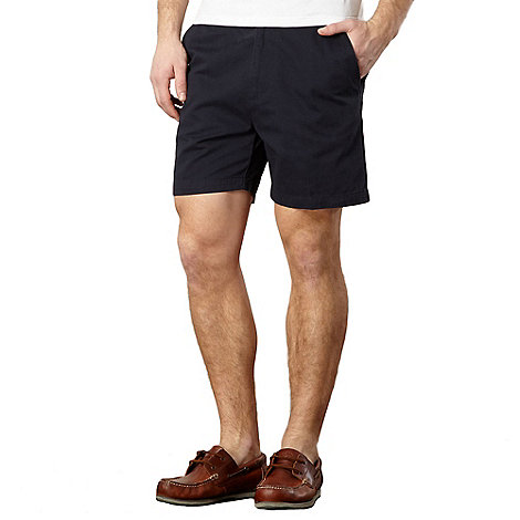 Maine New England - Big and tall navy twill shorts