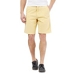 Maine New England - Big and tall yellow chino shorts