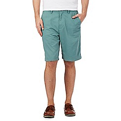 Maine New England - Big and tall pale green chino shorts
