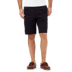 Maine New England - Big & Tall Navy Washed Chino short