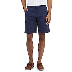 Maine New England - Big and tall blue washed chino shorts