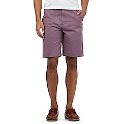 Maine New England - Big & Tall Mauve Washed Chino short
