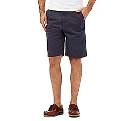 Maine New England - Big and tall dark grey chino shorts