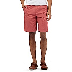 Maine New England - Big and tall dark orange chino shorts