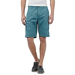 Maine New England - Big and tall turquoise cargo shorts
