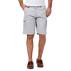 Maine New England - Light grey cargo shorts