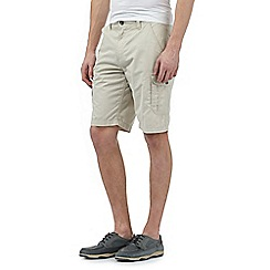 Maine New England - Big and tall beige cargo shorts