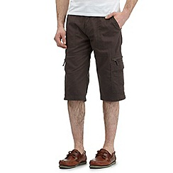 Maine New England - Big and tall grey bedford shorts